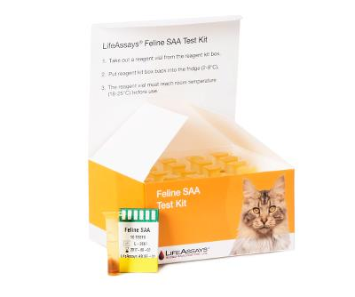 Feline Haptoglobin Kit LifeAssays® 1x10 Test