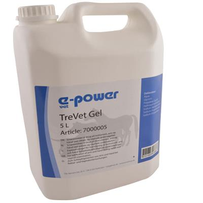 TreVet Gel, e-power,  5 L, nicht Spermizide tötend