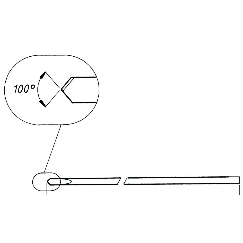 Kirschner Draht 1.6mm, 12.5cm, 10Stck.